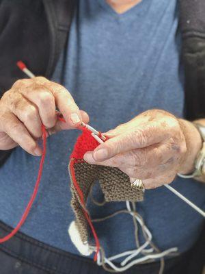 activities knitting